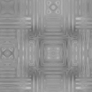 Light Gray Fractal Weave Large © Gingezel™ 2014