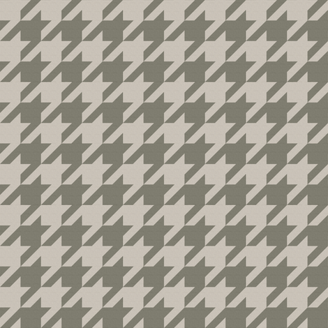 The Houndstooth Check ~ The Equestrian fabric by peacoquettedesigns on Spoonflower - custom fabric