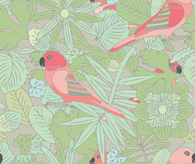 Botanic & Birds - Custom