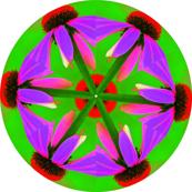 Mod Flower Mandala