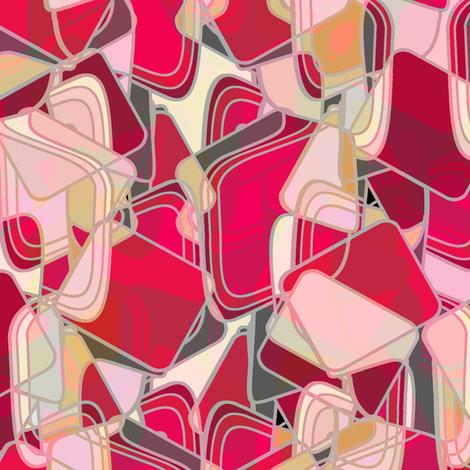 Mod Lava fabric by joanmclemore on Spoonflower - custom fabric