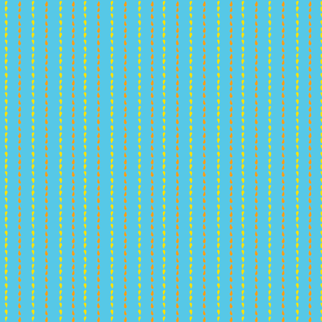 Popsicle - Lemon stripes fabric by boeingbleu on Spoonflower - custom fabric