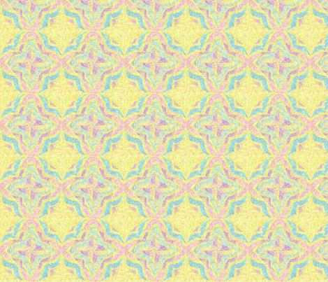 Pinwheel Kaleidoscope Serene fabric by vos_designs on Spoonflower - custom fabric