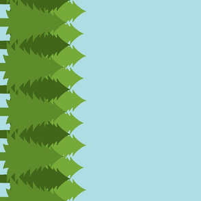 Evergreen Northwest Blue Double