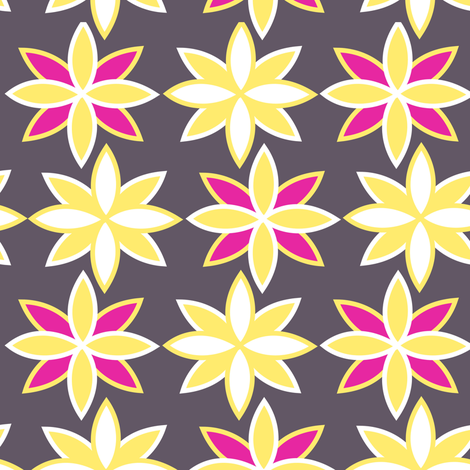 modfloral fabric by meg56003 on Spoonflower - custom fabric