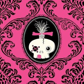 ZOMBIE BROCADE / abby skull