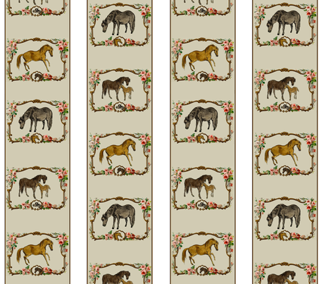 Sweet Ponies fabric by ragan on Spoonflower - custom fabric