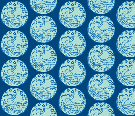 Picnic Moons fabric by callioperosehandcarjones on Spoonflower - custom fabric
