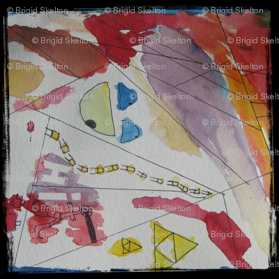 Morgan's Watercolour: children's art