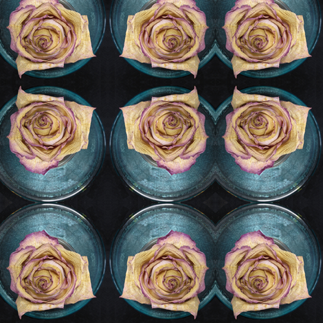 Faded Rose fabric by nalo_hopkinson on Spoonflower - custom fabric