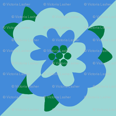 mod flower 1 - diamond decal