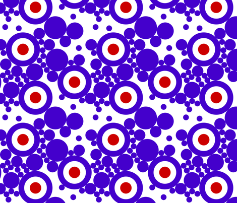 mod-dots fabric by renateandtheanthouse on Spoonflower - custom fabric
