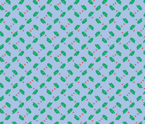 Bailey Boys - Golf (version 2) fabric by jennartdesigns on Spoonflower - custom fabric