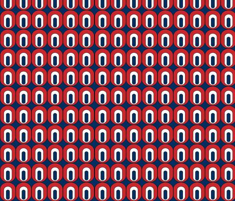 Retro Mod Oval fabric by petal_soup on Spoonflower - custom fabric