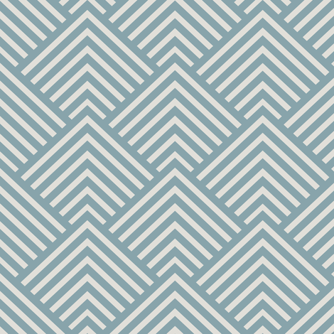 Dusk Blue Mod fabric by kimsa on Spoonflower - custom fabric