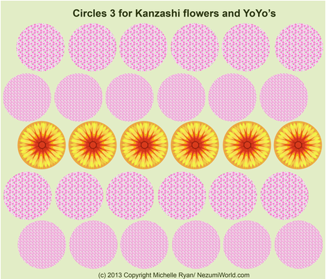 Circles No.3 fabric by nezumiworld on Spoonflower - custom fabric