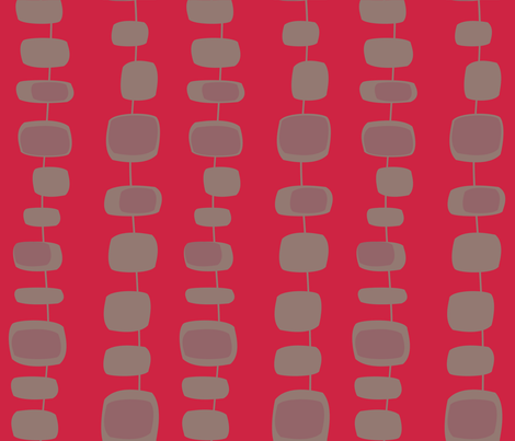 Mid-century__pop_ fabric by ©l©ment_cr©atif on Spoonflower - custom fabric