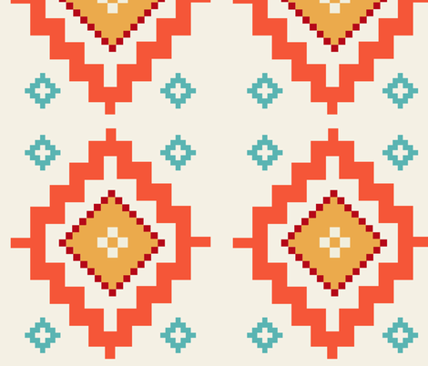 afghan fabric by arudat on Spoonflower - custom fabric