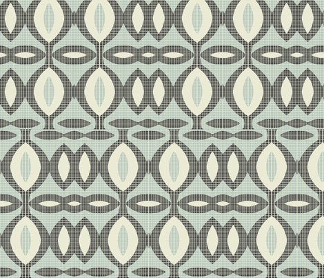 mod wallpaper 11 fabric by kociara on Spoonflower - custom fabric