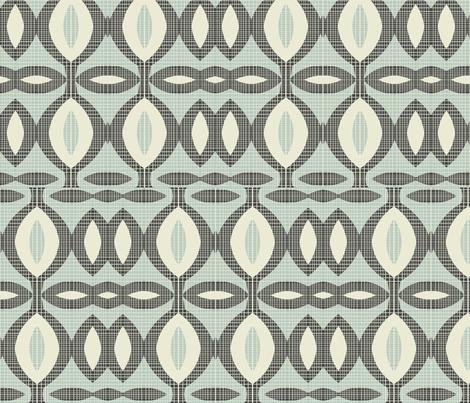 mod wallpaper 11 fabric by kociara on Spoonflower - custom fabric