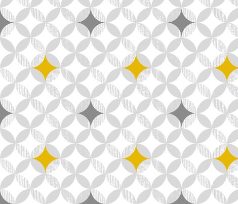 Mod Mustard fabric by sealemon on Spoonflower - custom fabric
