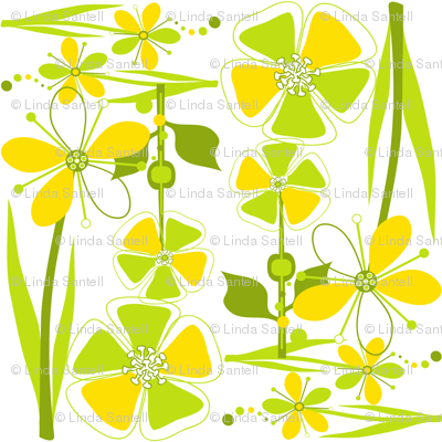 ModFlowersSunshine & Lime