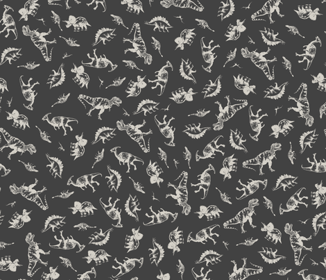 Regular Dinos fabric by candyjoyce on Spoonflower - custom fabric