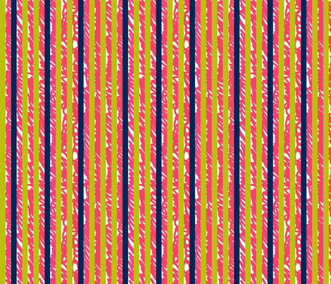 Scribble Stripe fabric by candyjoyce on Spoonflower - custom fabric