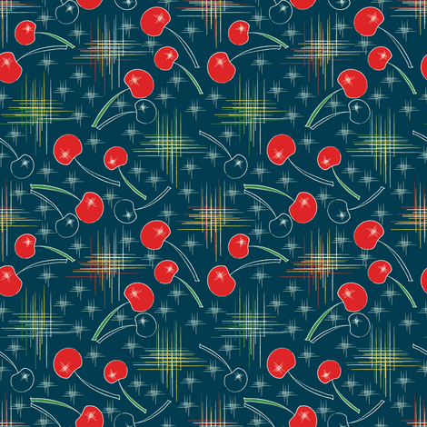 Cherry Blast fabric by mag-o on Spoonflower - custom fabric