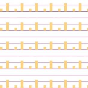 Orange Bar Charts for Erin