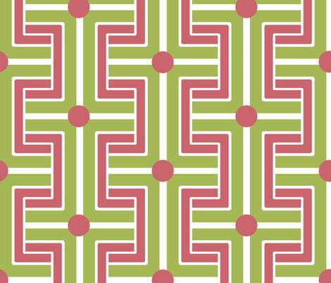 Linear Mod! fabric by jlwillustration on Spoonflower - custom fabric