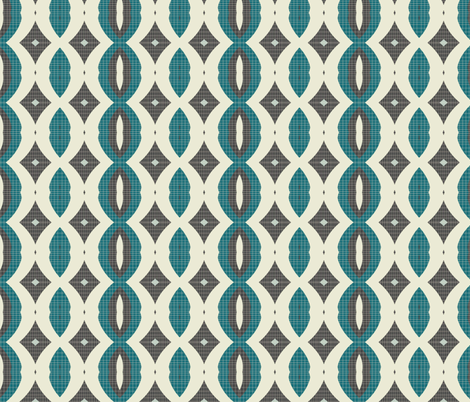 mod wallpaper 10 fabric by kociara on Spoonflower - custom fabric