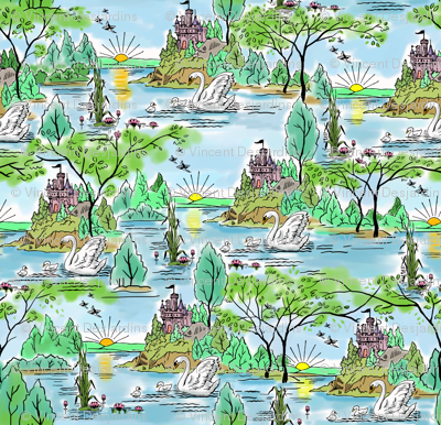 Castle Island Swan