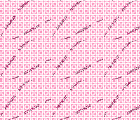 ANNABELLE_polka_dots fabric by vos_designs on Spoonflower - custom fabric