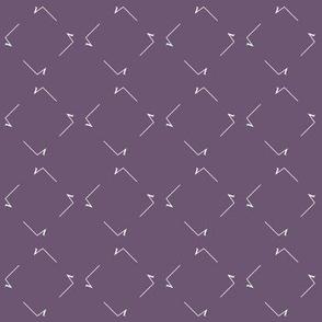 Square Root squares - Hypatian Violet