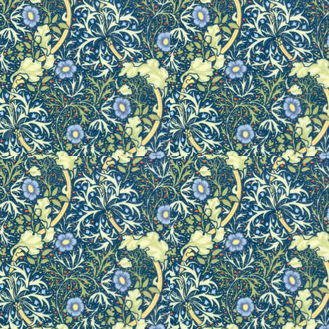 Seaweed  fabric by amyvail on Spoonflower - custom fabric