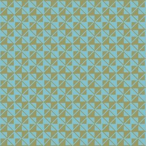 checker texture olive blue