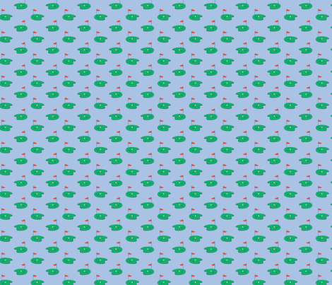 Bailey Boys - Golf - one way print fabric by jennartdesigns on Spoonflower - custom fabric