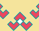 Rrchevron_broken_u_summer_coral__turquoise__and_beige_thumb