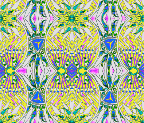 Sunshine Daydream fabric by whimzwhirled on Spoonflower - custom fabric