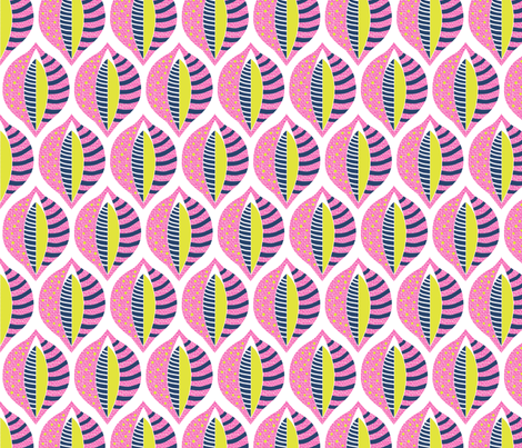 60s Mod Lupin fabric by creative_merritt on Spoonflower - custom fabric