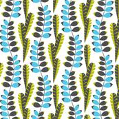 Mod foliage blue