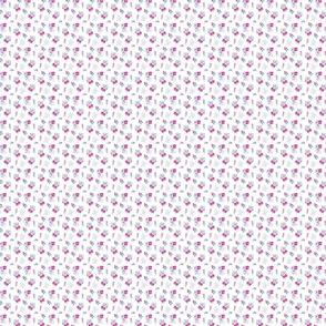 Wildflower Pink & Aqua