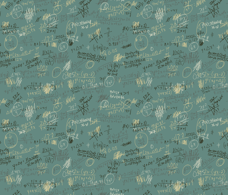 brain teaser fabric by maja_studio on Spoonflower - custom fabric