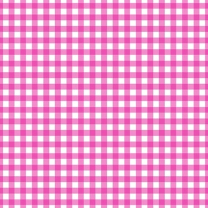 Gingham Pink