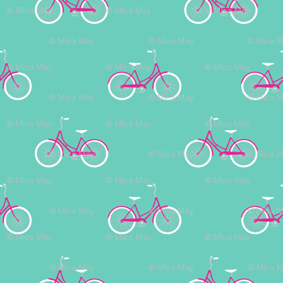 Bike Ride Aqua
