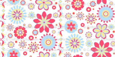 Mod Flower Paper