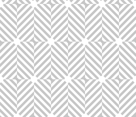 modgrey fabric by christinecorine on Spoonflower - custom fabric