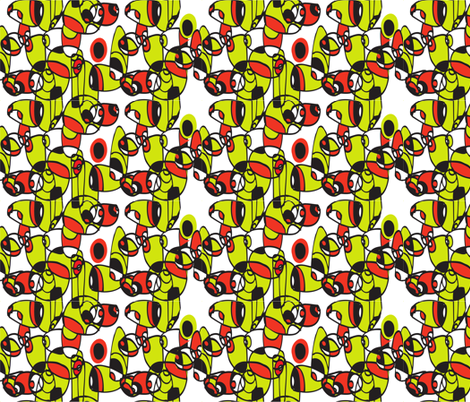 make_me_mod_4 fabric by ceci_bowman on Spoonflower - custom fabric