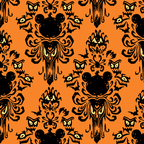 mickey_mansion-ch fabric by knittychick on Spoonflower - custom fabric